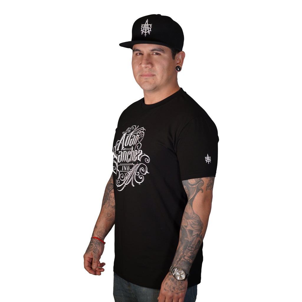 Adan Sanchez Ink Black T-shirt