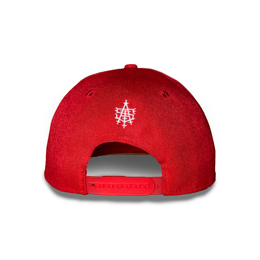 Asi Hat Red-Roja (Snapback)