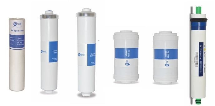 7 common stages of Water Purification System: