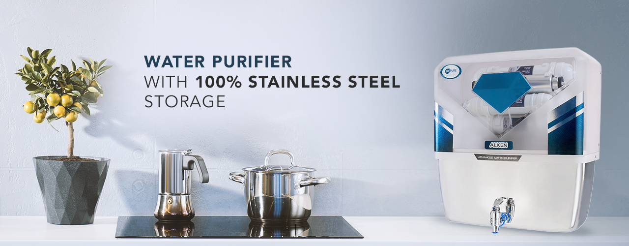 Bepure Best UV and UF Water Purifier With Storage (Stainless Steel Tank Capacity 12L)