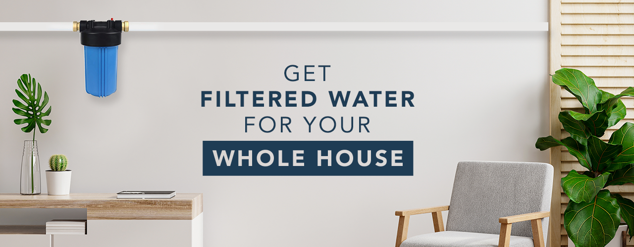 Filtered Water From Bepure Whole House Water Filtration System