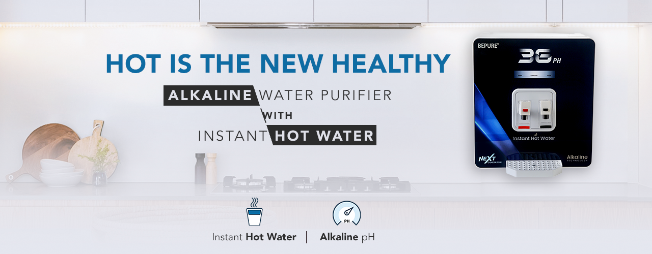 RO+UV+UF+TDS Bepure Hot Water Purifier For Home
