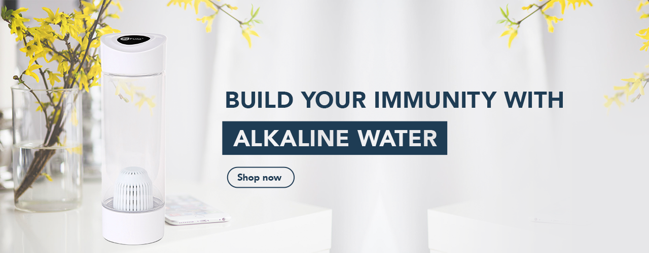 To Build Your Immunity Use Bepure Alkaline Water Bottle