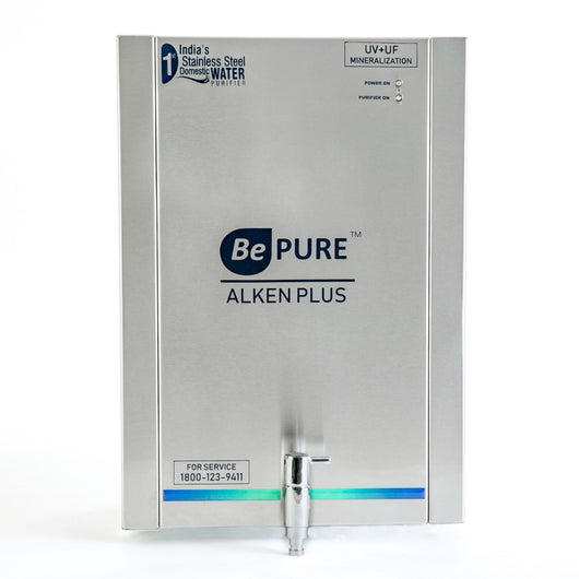 Bepure ALKEN+ 8 Litre Stainless Steel Storage UV+UF+Alkaline Water Purifier