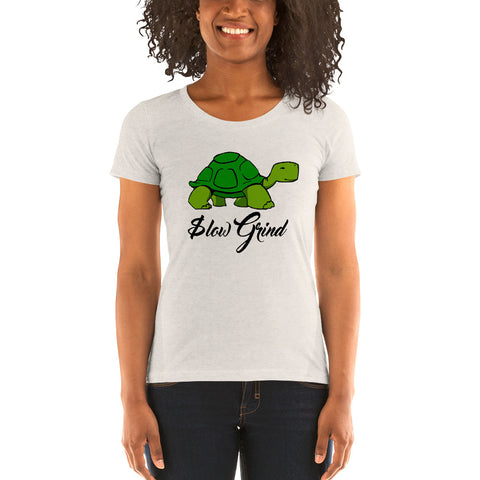 Slow Grind - Ladies' short sleeve t-shirt
