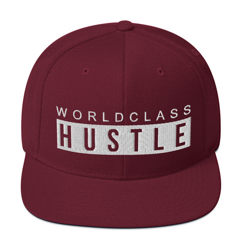 World Class Hustle - Snapback Hat