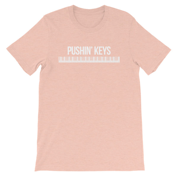Pushin' Keys - Short-Sleeve Unisex T-Shirt