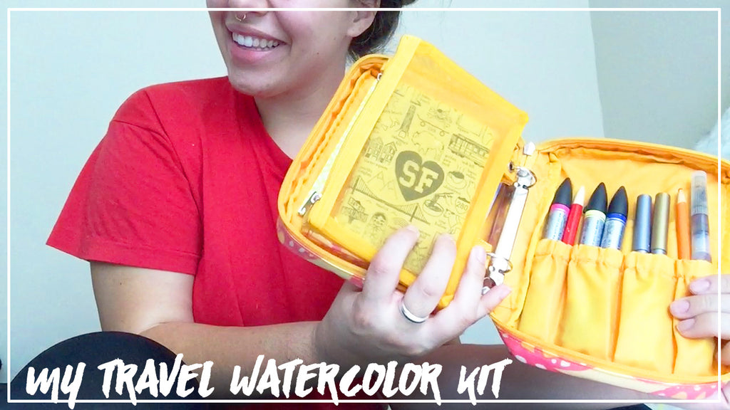 My DIY Travel Watercolor Kit