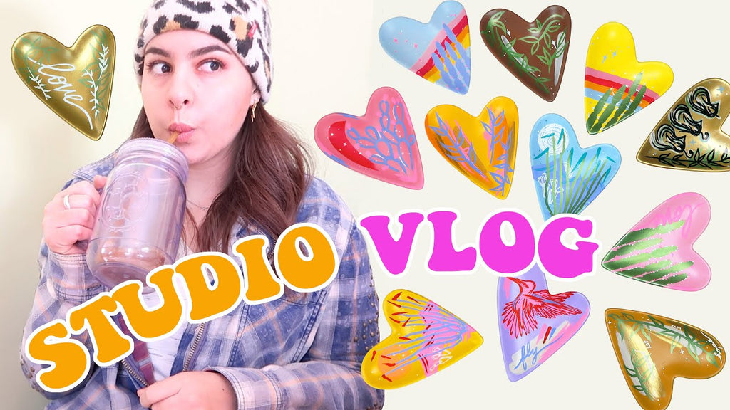 Studio Vlog: How I Work Through a Creative Rut & Releasing a Ceramics Collection