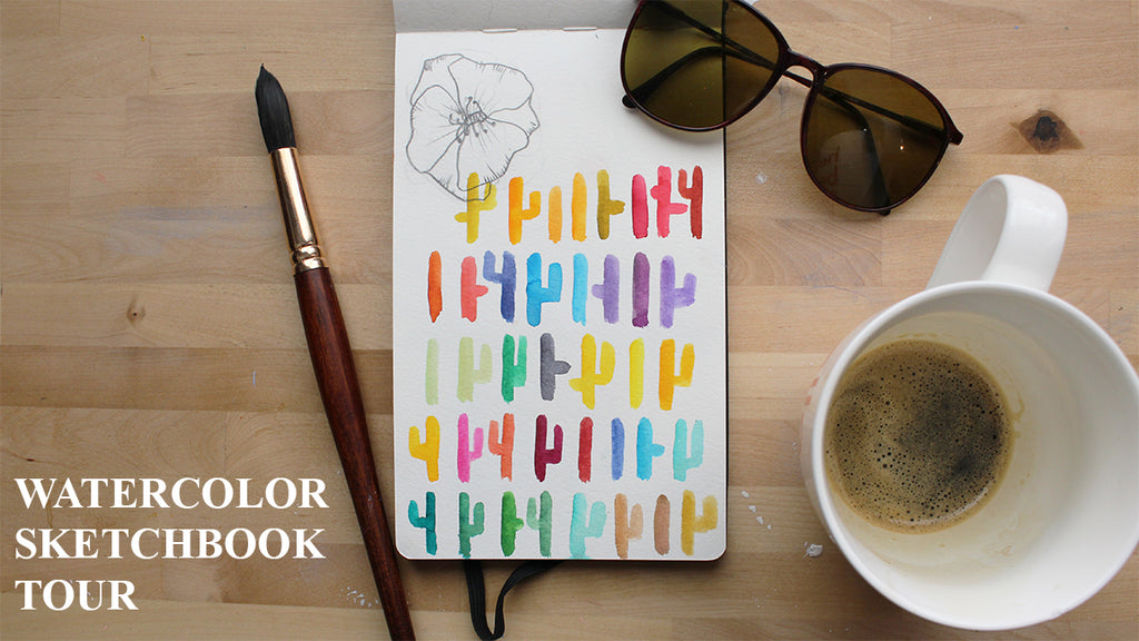 Watercolor Sketchbook Tour