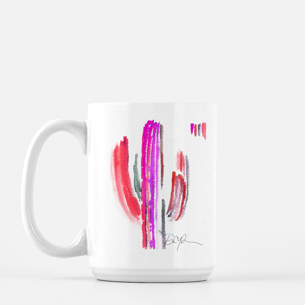 """Sweet Saguaro"" Ceramic Mug"
