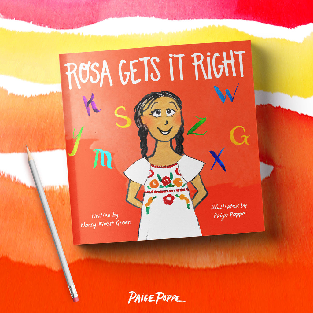 "Children's Book ""Rosa Gets It Right"""