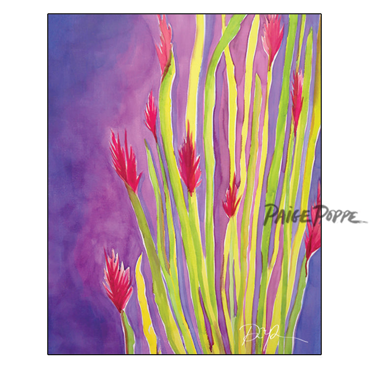 """Brilliant Ocotillo"" Watercolor Print"