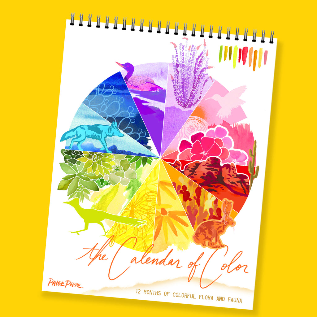"""The Calendar of Color"" 2020 Wall Calendar"