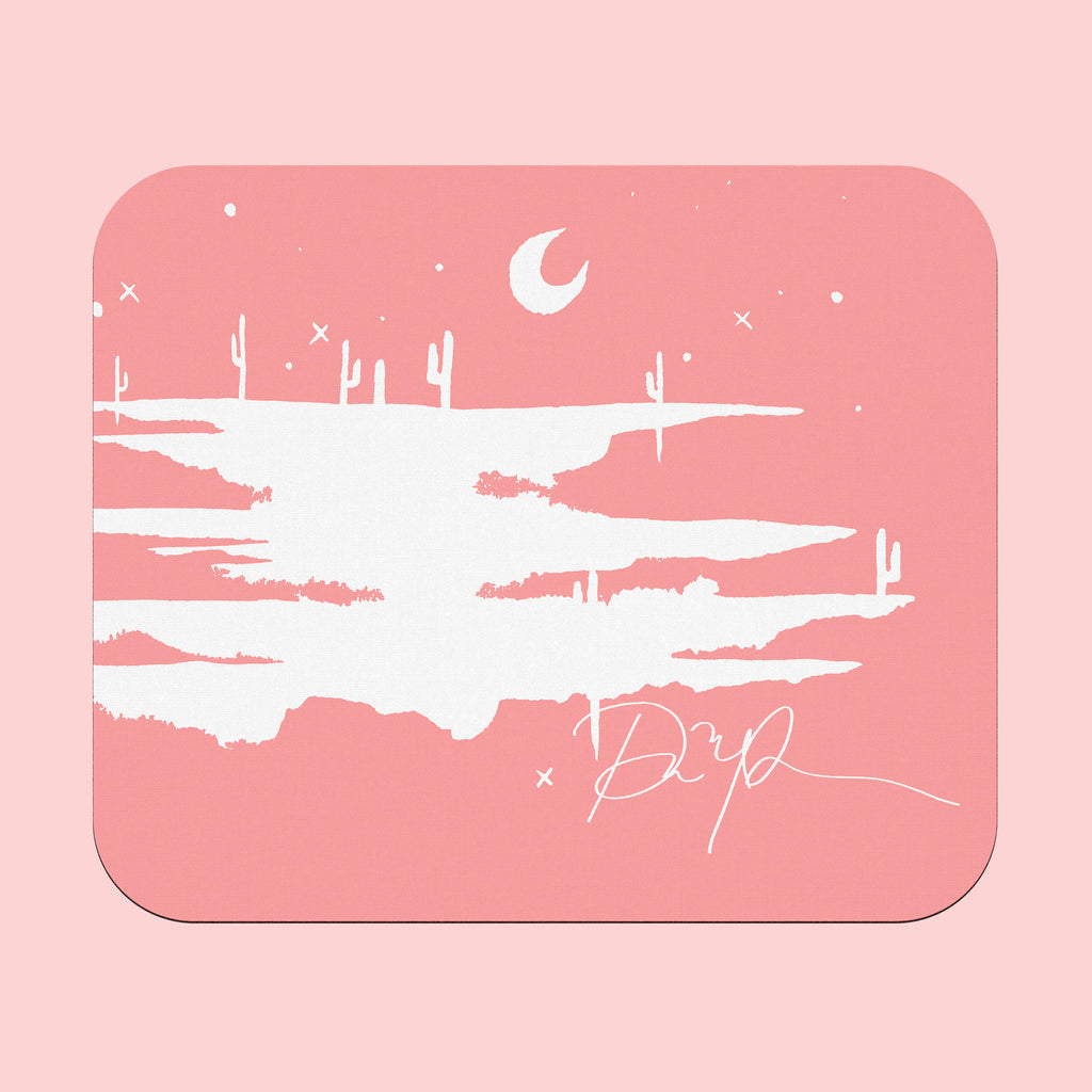 """Desert Blush"" Rectangular Mousepad"