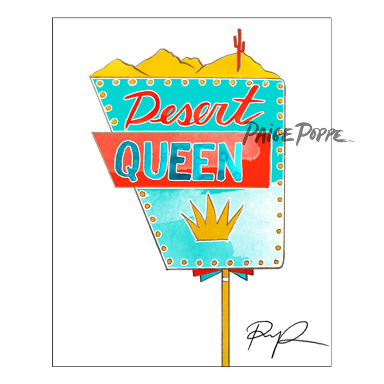 """Desert Queen"" Fine Art Print"