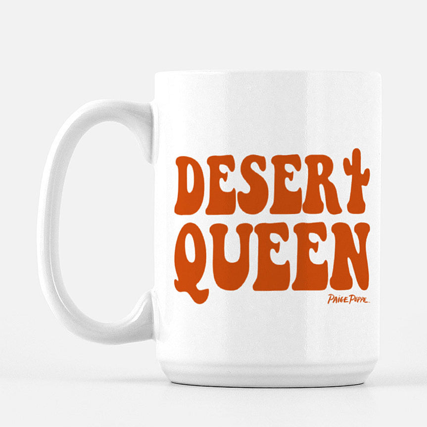 """Desert Queen"" Ceramic Mug"