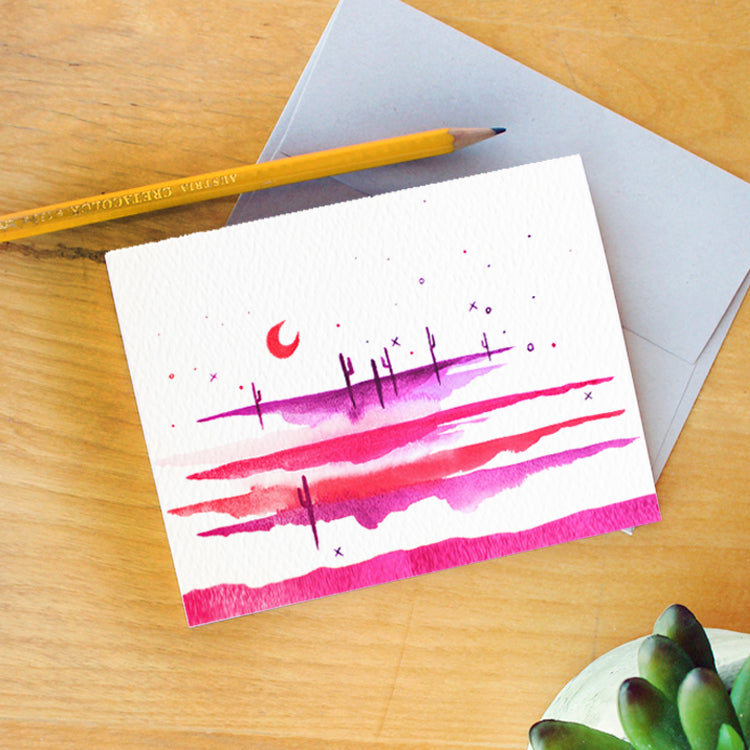 """Desert Dreams"" Greeting Card"