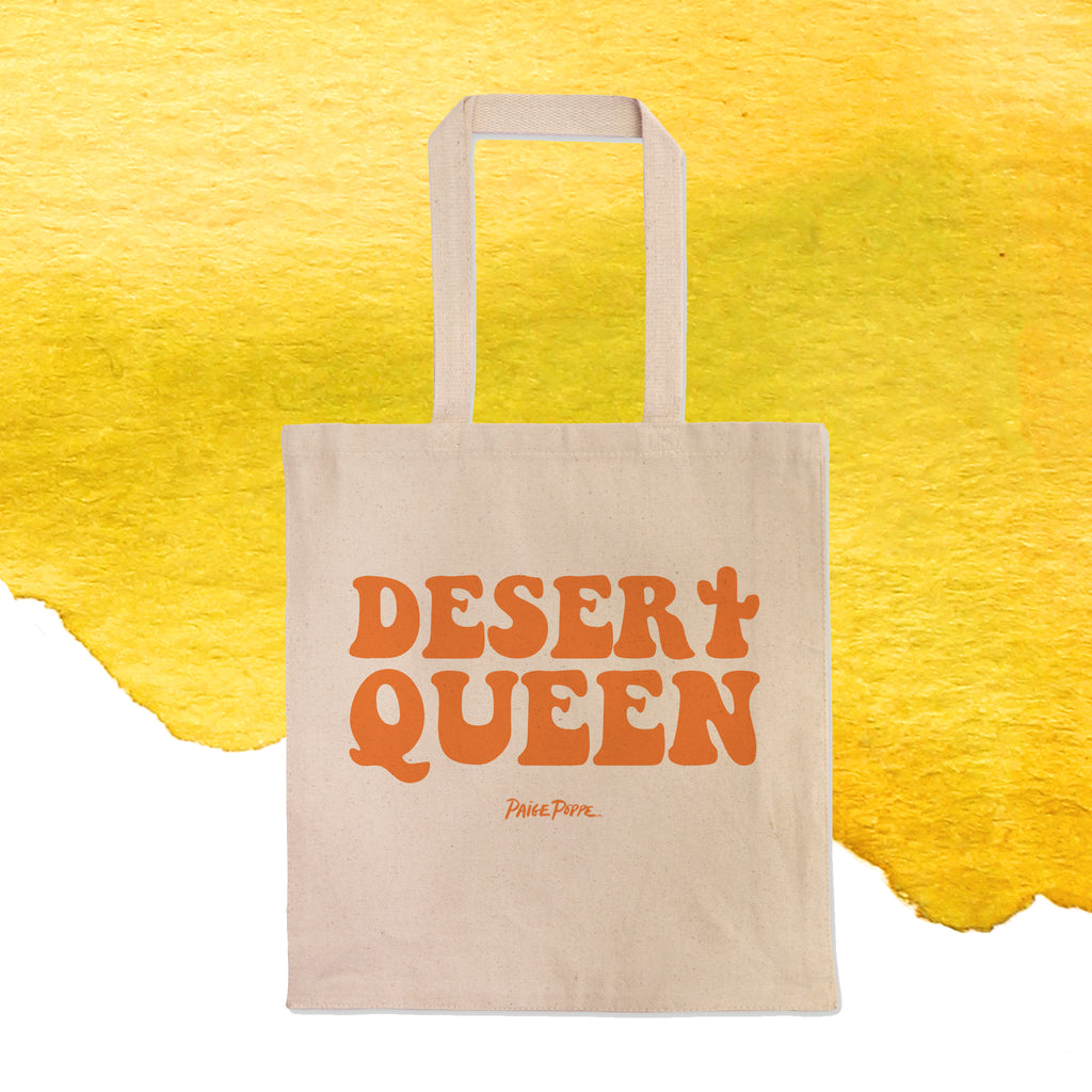 """Desert Queen"" Tote Bag"