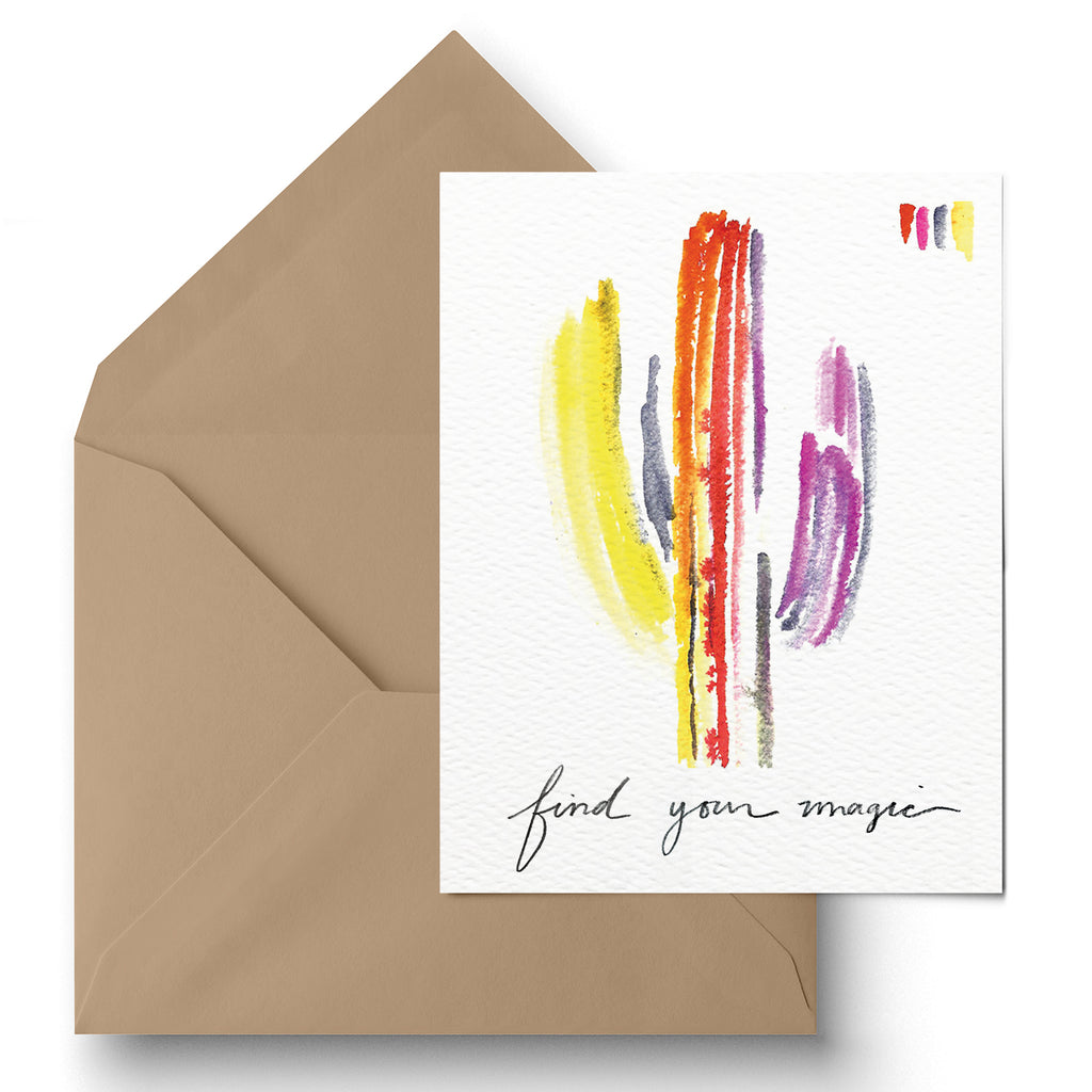 """Find Your Magic"" Greeting Card"