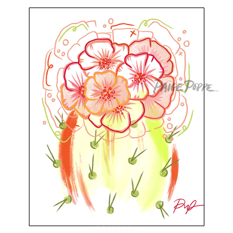 """Flower Power"" Art Print"