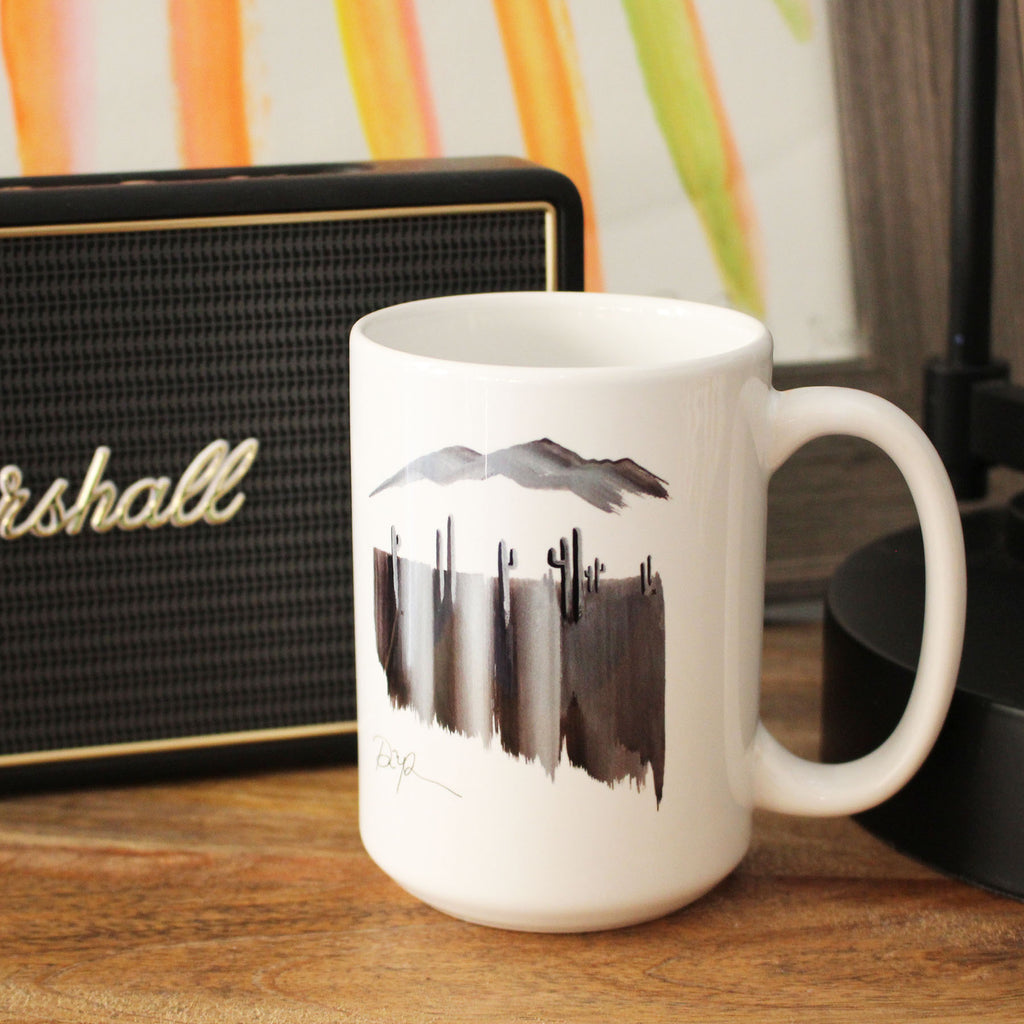 """Desert Nights"" Ceramic Mug"