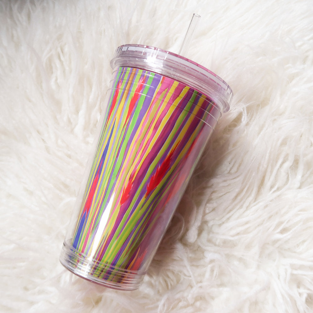 """Brilliant Ocotillo"" Beverage Tumbler"