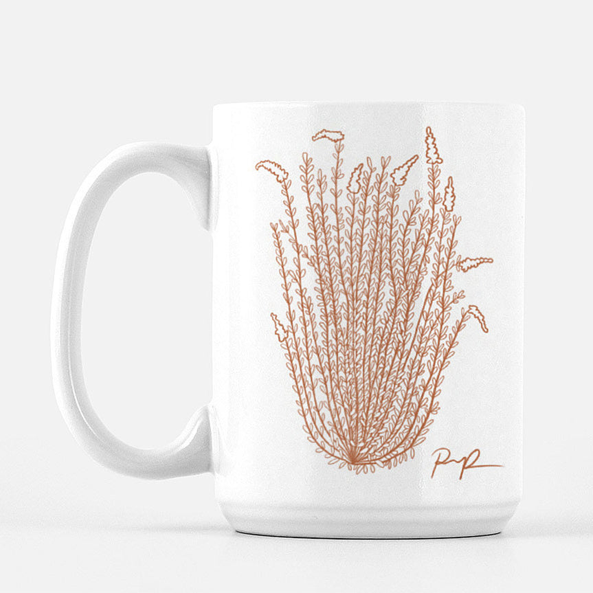 """Ocotillo Rising"" Ceramic Mug"