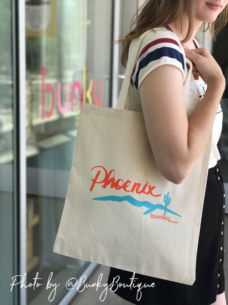 """Phoenix"" Limited Edition, Canvas Tote Bag"