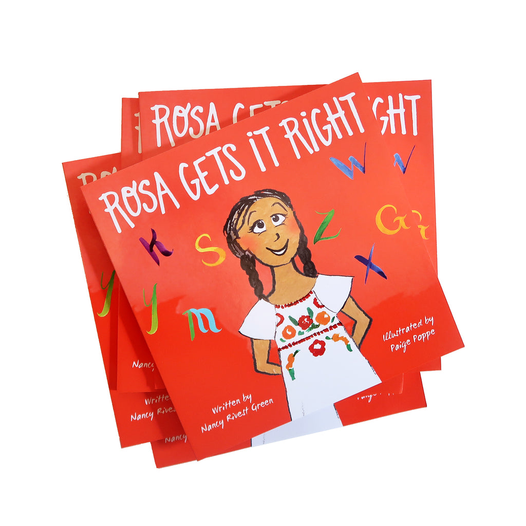 "1 LEFT! - ""Rosa Gets It Right"" Children's Book"