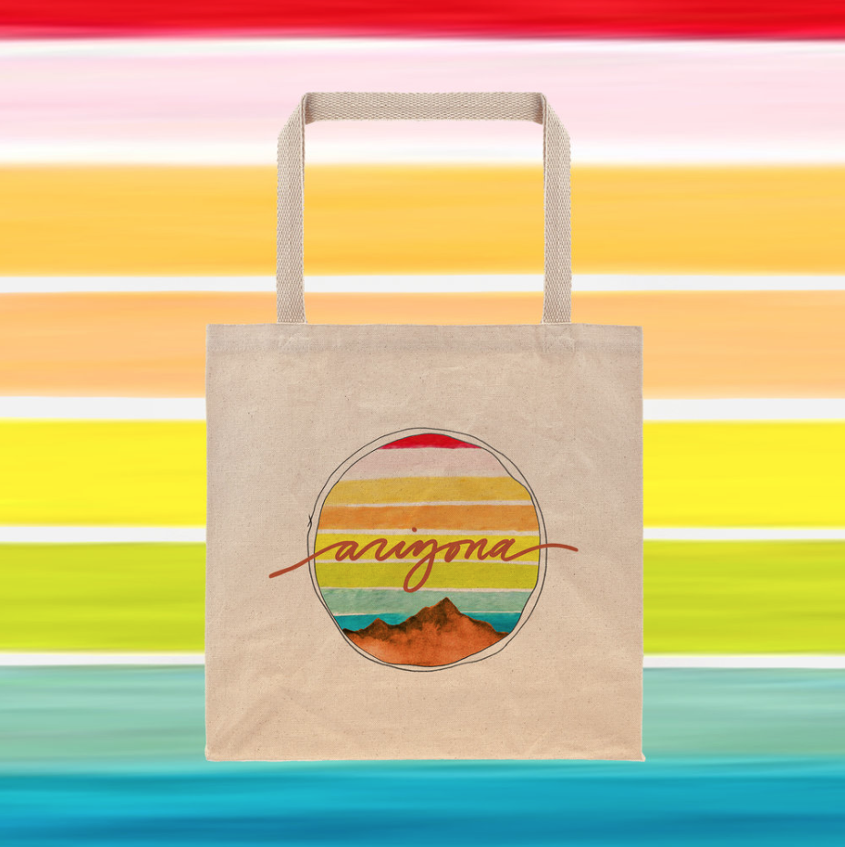 """Explore Arizona"" Tote Bag"