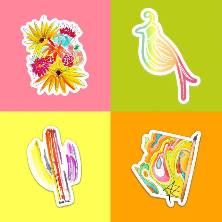 Sticker Pack! Choose Any 4