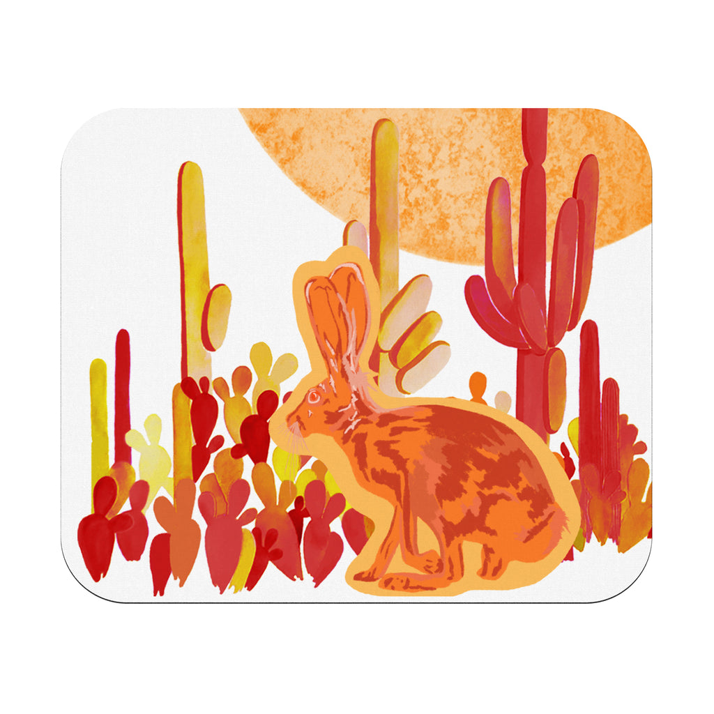 """Solstice Jackrabbit"" Rectangular Mousepad"