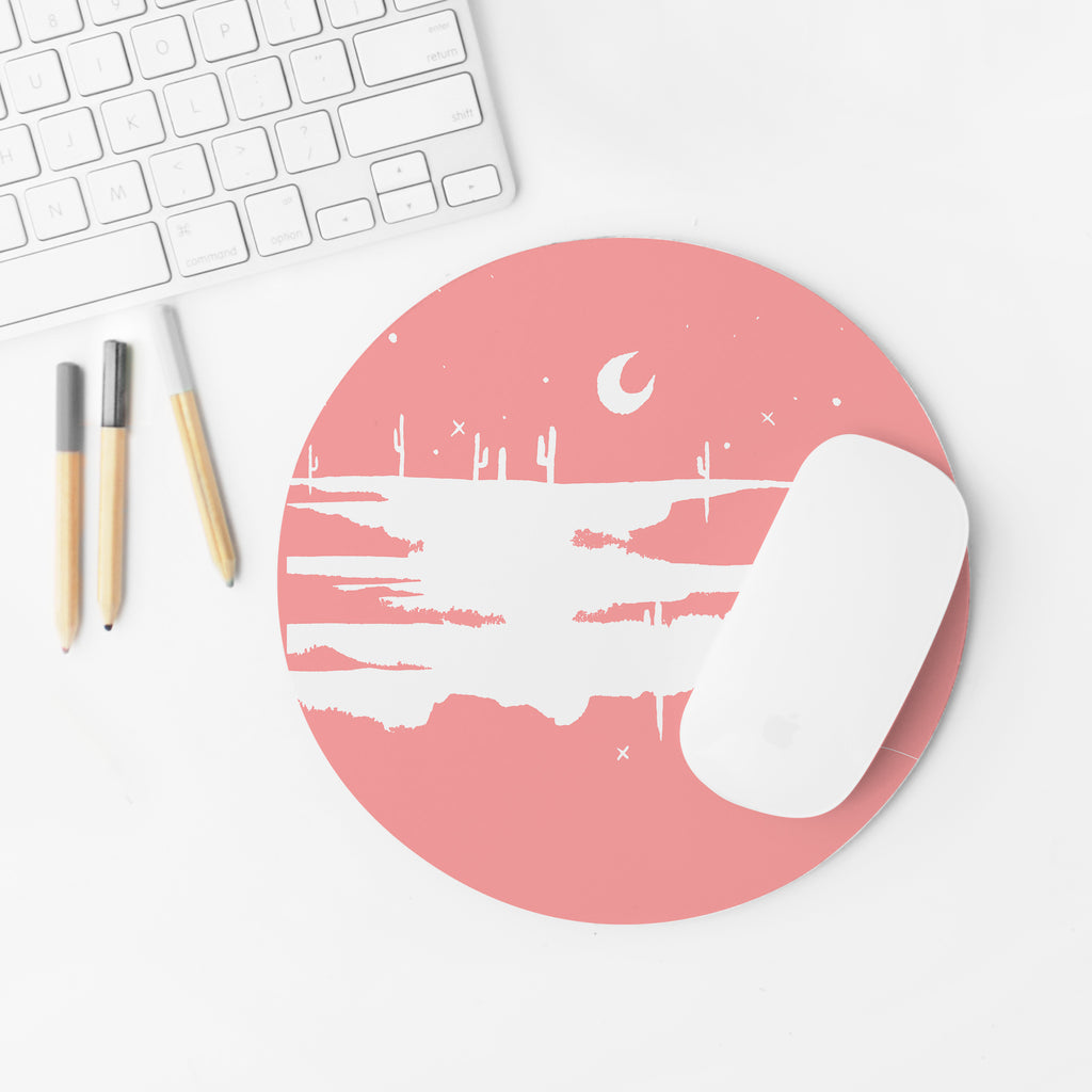 """Desert Blush"" Mousepad"