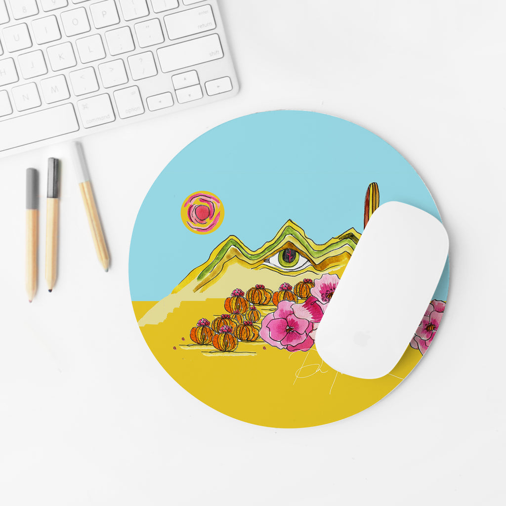 """Eye of the Desert"" Mousepad"