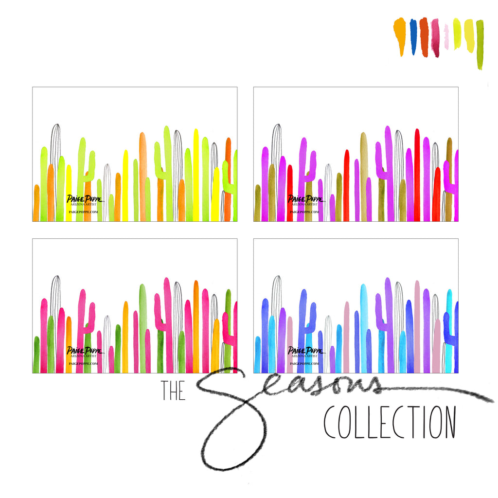 """The Seasons Collection"" Greeting Card Set"