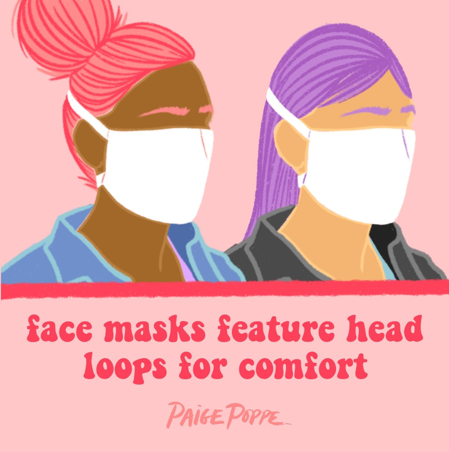 """Nature Walk"" Head Loop Face Mask"