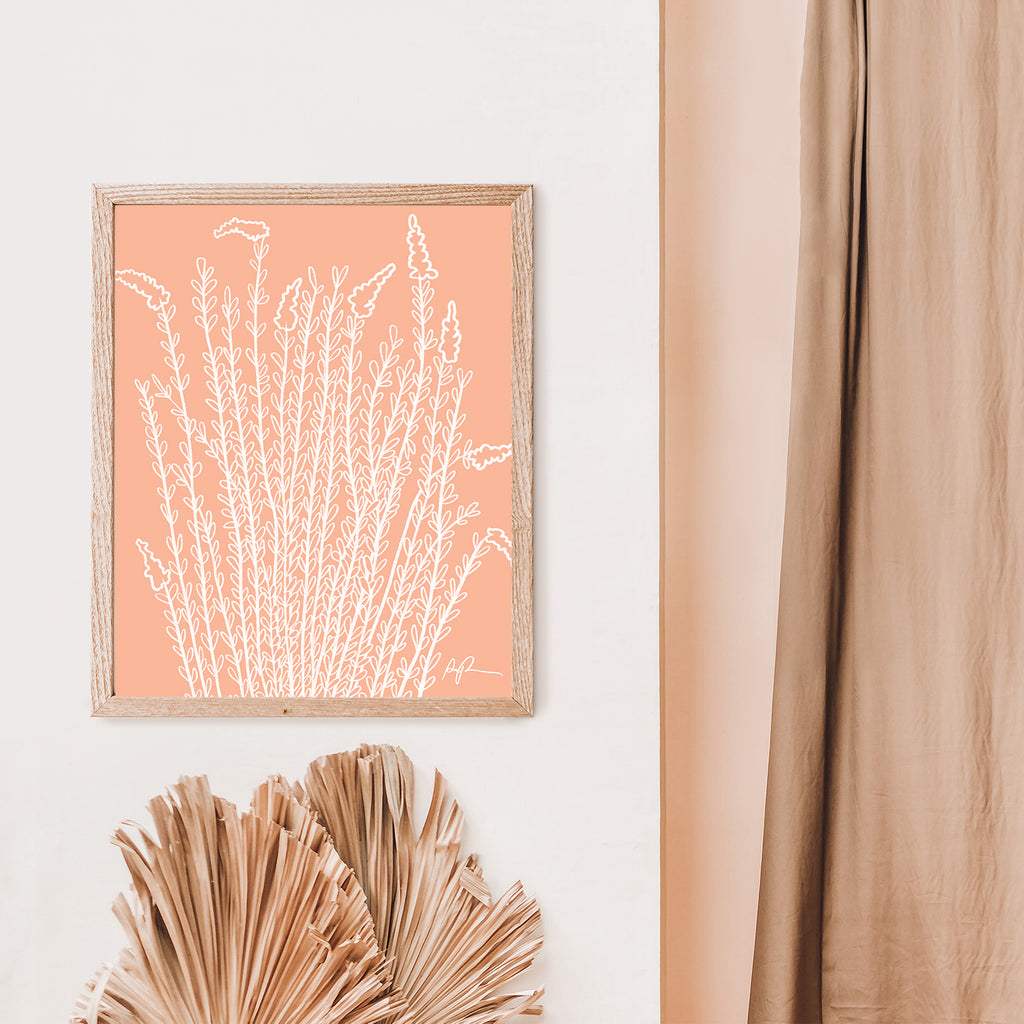 """Whispering Ocotillo"" Art Print"