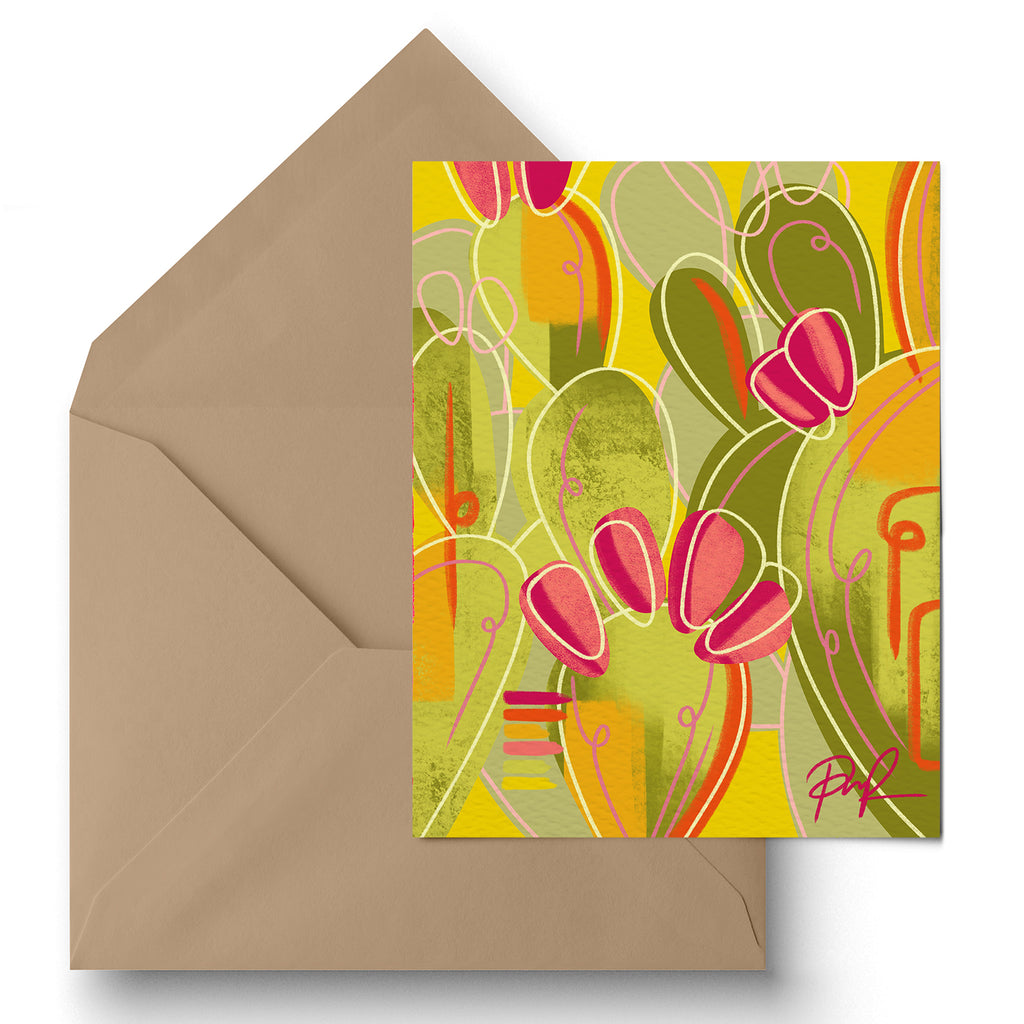 """Wild Child"" Greeting Card"