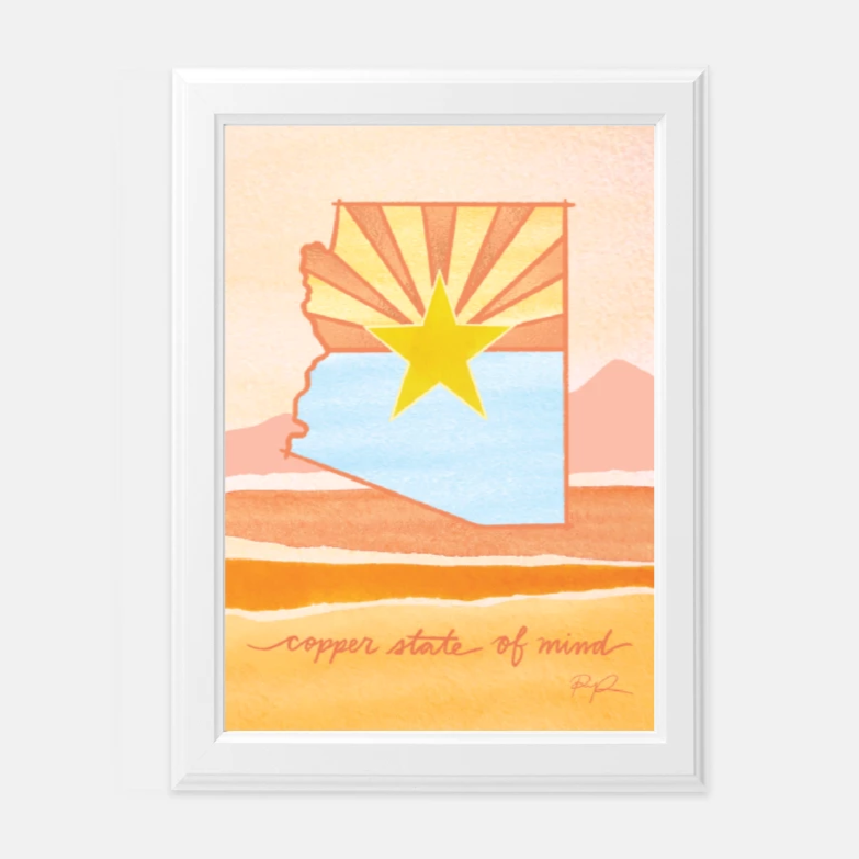 """Copper State of Mind"" Art Print"