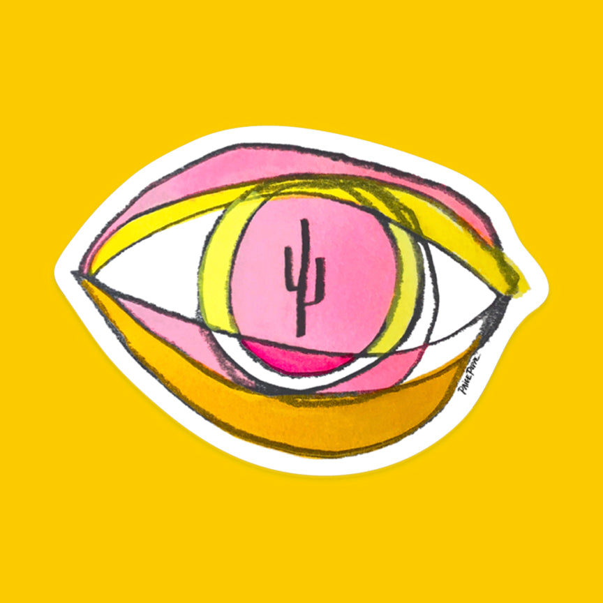 """Eye of the Desert"" Sticker"