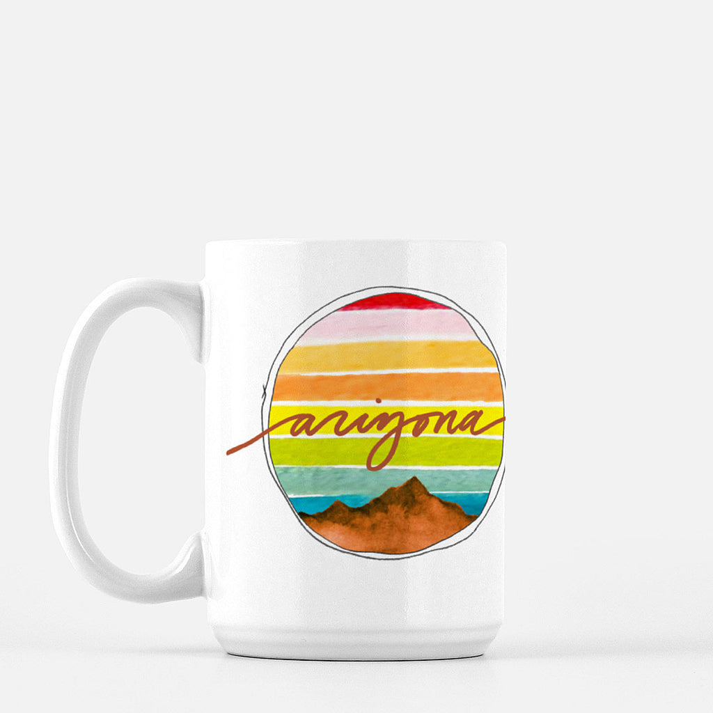"""Explore Arizona"" Ceramic Mug"