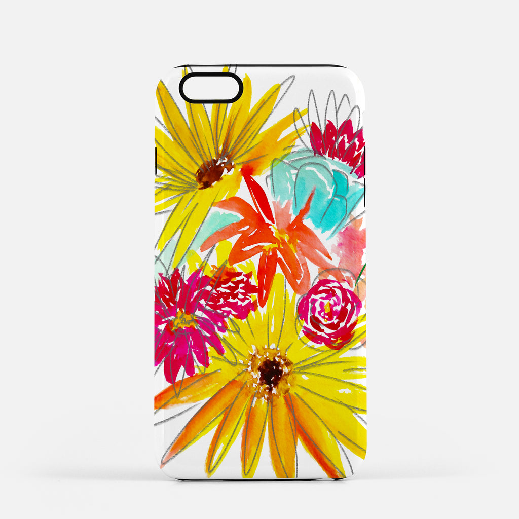 """Farmers Market Bouquet"" Phone Case"