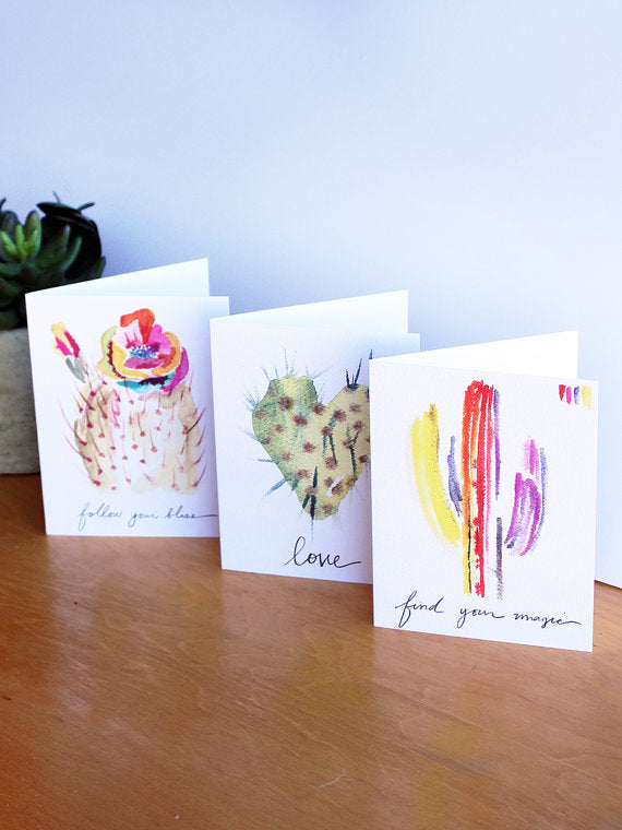 Mix + Match Pack: Set of Greeting Cards