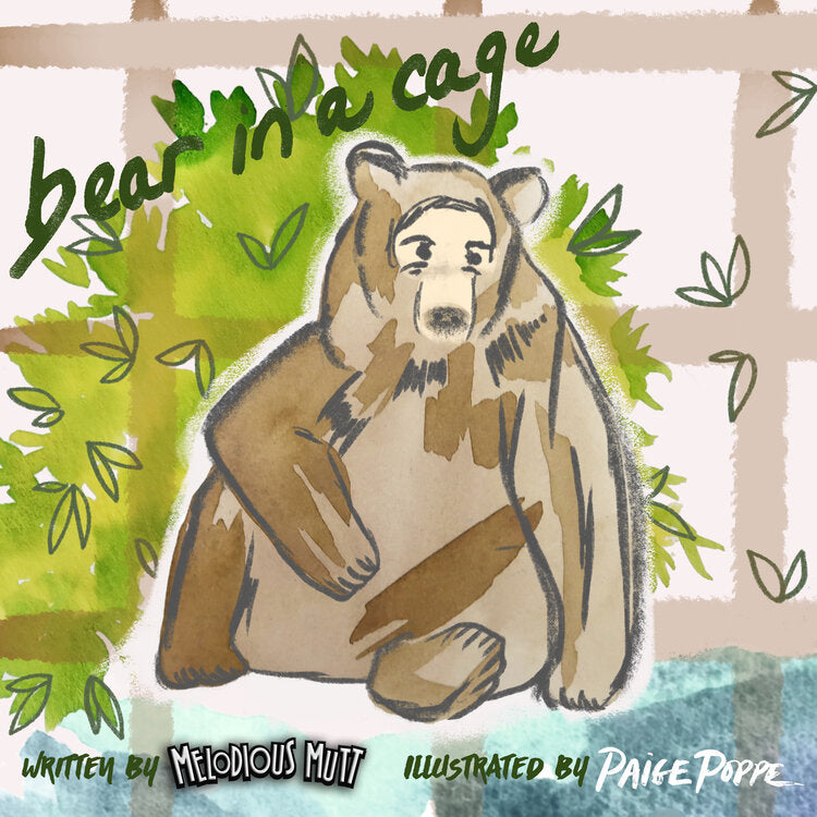 """Bear in a Cage"" Children's Book"