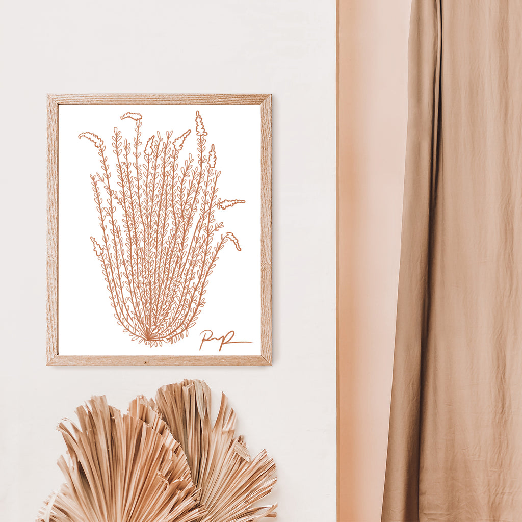 """Ocotillo Rising"" Art Print"