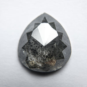 2.87ct 10.97x9.83x3.26mm Pear Rosecut 18002-03