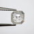 0.87ct 6.19x6.17x2.38mm Cut Corner Rectangle Rosecut 18003-12