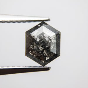 1.10ct 8.00x6.20x2.51mm Hexagon Rosecut 18019-06