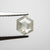 0.87ct 6.53x5.51x2.84mm Hexagon Rosecut 18019-26
